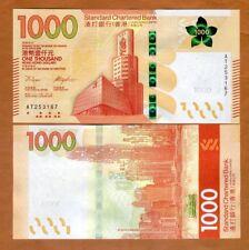 Hong Kong, $1000, 2018, SCB, P-New, UNC > New design