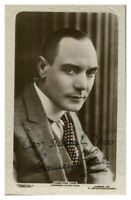 Antique Cameron Carr hand signed autograph photographic postcard actor
