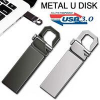 USB 3.0 2TB Metal Flash Drive Memory Stick Pen U Disk Swivel Key Thumb PC Laptop