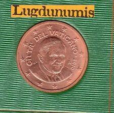 Vatican 2010 - 5 Centimes D'Euro - 94 000 exemplaires Provenant du BU RARE