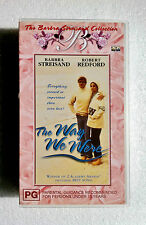 """BRAND NEW"" BARBRA STREISAND, ROBERT REDFORD ""THE WAY WE WERE"" VHS VIDEO MOVIE"