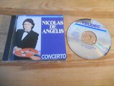 CD Pop Nicolas De Angelis - Concerto (16 Song) TELDEC REC / JAPAN
