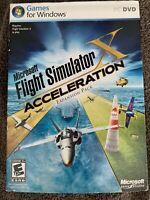 Microsoft Flight Simulator Acceleration PC Game  For Windows