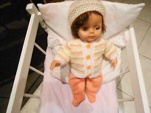 ens fait main compatible avec poupée de collection raynal tinnie 35cm