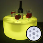 Color Changing LED Ice Tray Wine Champagne Beer Drink RGB Party Bar Wine Holder
