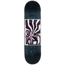 "Santa Cruz Skateboards Skull Block Hard Rock Maple Skateboard Deck Black 8.25"""