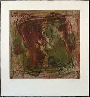 Informel. Untitled, 2002 Grosse Lithographie Jens JENSEN (*1940 D), handsigniert