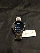 Fossil Men's Stainless Steel(Gen 4)- Touchscreen Smartwatch - DW6F1