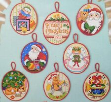 Sealed! THE BEST OF CHRISTMAS ORNAMENTS Cross Stitch Kit Bucilla HOLIDAY ORNIES!