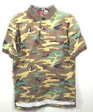De Shootinest Gent'man My Favorite Shirt Mens M Cotton Camouflage Polo Shirt