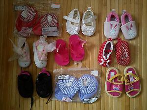Huge GAP NEXT M&S MATTEW WILL... 9x bundle baby girl shoes boots 0/3/6 MTHS 0.5
