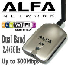 Alfa AWUS051NH V2 Dual Band USB Wireless N 802.11a/b/g/n WiFi Adapter