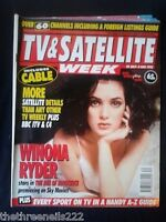 TV & SATELLITE WEEK - WINONA RYDER - 29 JULY 1995