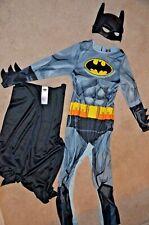 Official child's BATMAN COSTUME children's Age 7-8 MASK CAPE SUIT superhero DC