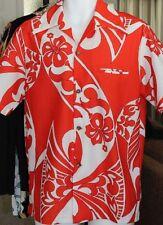 RARE REYN'S Menswear Pre Reyn Spooner 50 s 1950 Hawaiian Shirt Loop Collar M
