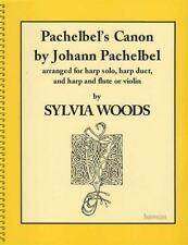 Johann Pachelbel's Canon for Harp & Flute or Violin Arranged by Sylvia Woods