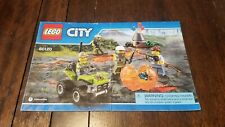 LEGO City Volcano Starter Set - (60120) - Instruction Manual Only