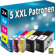 5x TINTE PATRONEN für HP 934XL 935XL OFFICEJET PRO 6230 6820 6830C All-in-One