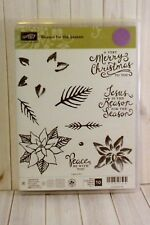 """Stampin' Up! """"Reason for the Season"""" RETIRED Photopolymer Stamp Set"""