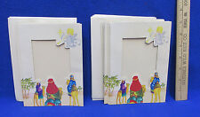 Christmas Photo Holder Greeting Card 3 Wise Men Personalize Photographs Set 24