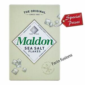 MALDON SEA SALT FLAKES - Free From Additives.! loved by chefs
