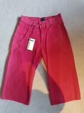 BNWT Energie Jeans High Waisted Long Shorts Size 8 RRP £55