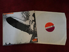 LED ZEPPELIN I 1st LP UK 1969 1st Press STEREO ATLANTIC 588 171 RARE RED PLUM