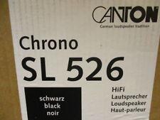 Canton Chrono SL 526  Kompaktlautsprecher Highgloss Schwarz (16)