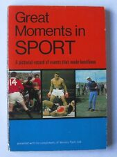 Great Moments In Sport By Vernons Pools Book 1966/67