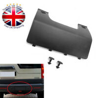 FOR LAND ROVER DISCOVERY 3 4 REAR BUMPER TOWING COVER TRIM & CLIPS -DPO500011PCL