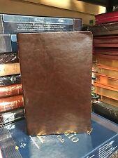 Biblia de Estudio Scofield Tamano Personal piel reina valera 1960 cafe