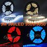 IP65 5M 300 LED 3528 5050 SMD Strip Bande Ruban Lampe Etanche Waterproof DECO #F