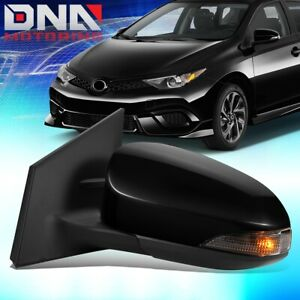 For 2016 Scion iM Powered Adjustment Heated Turn Signal Left Driver Side Mirror