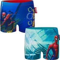 Boys Kids Spiderman Swimming Boxer Swim Trunk age 3-8 years