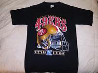 49ers Vintage Helmet Tee Shirt 1992 San Francisco All Size S M L XL 234XL PP182