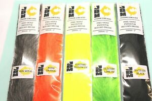 """PIKE SKINZ PREDATOR BUFORD BRUSH 50mm _ 2"""" ASSORTED COLOURS FROM FLYMAKERS"""