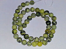 NEW 8MM Yellow Turquoise Gemstone Round Spacer Loose Beads About 33pcs. DIY