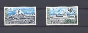 French Southern Antarctic Territories 1979 SG 133-4 Ships MH