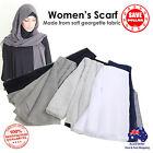 Women Scarf Chiffon Shawl Wrap Hijab Headwear Hat Islamic Band Neck Chest Cover