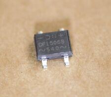 DF1506S Diode Bridge Rectifier Single Phase GPP 600V 1.5A DF-S 100Pcs