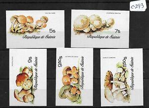 SMT 121, Guinea imperf postal set of 5 stamps X 2, MNH, RRR