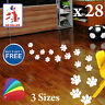 Paw Print Stickers Cat Dog Wall & Floor Vinyl Decal X28 Kids Bedroom Removable