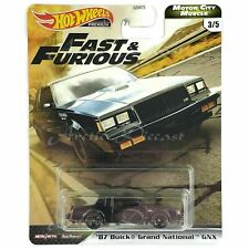 Hot WheelsFast & Furious Motor City Muscle - #3 '87 Buick Grand National GNX