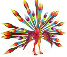 Alebrije Oaxacan Wood Carving Handcrafted Colorful Mexican Art