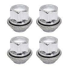 4x Ford Metric Tapered Seat Wheel Nuts M12x1.5mm For  OE Alloy Wheels 2012>