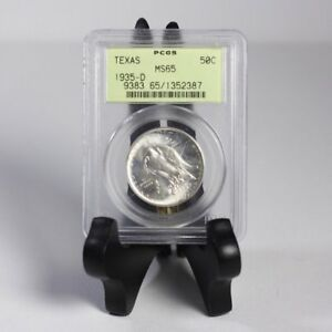 1935 D Texas Half PCGS MS65 OGH *Rev Tye's* #2387235