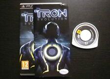 JEU Sony PSP : TRON EVOLUTION (Disney COMPLET envoi suivi)