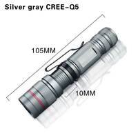 2000LM Tactical LED Flashlight Torch Lamp Ultrafire CREE Q5 LED LuZoomable Light