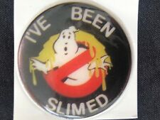 1 VINTAGE 80'S GHOST BUSTERS PUFFY I'VE BEEN SLIMED  STICKER 1 1/2 X 1 1/2