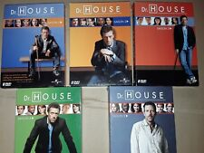 Lot 5 saisons coffret DVD Dr. HOUSE complets